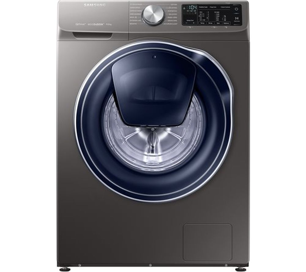 SAMSUNG QuickDrive + AddWash WW90M645OPX Smart 9 kg 1400 Spin Washing Machine - Graphite
