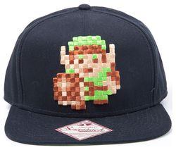 NINTENDO 8-Bit Link Baseball Cap - Black