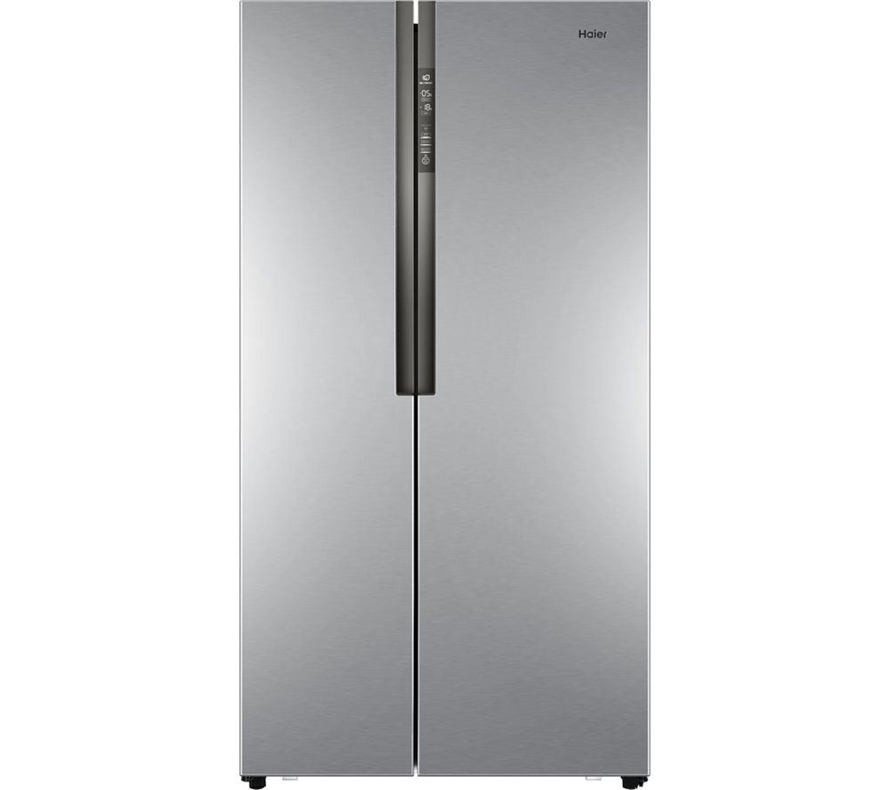 Compare prices for Haier HRF-521DS6 American Style Fridge Freezer - Silver