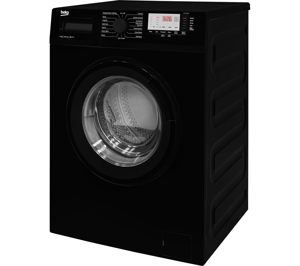Buy Beko Wtg741m1b 7 Kg 1400 Spin Washing Machine Black