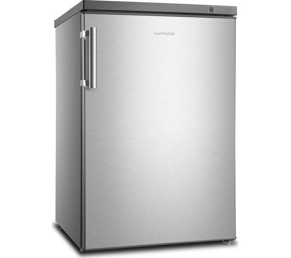 Buy Kenwood Kuf55x18 Undercounter Freezer Silver Inox