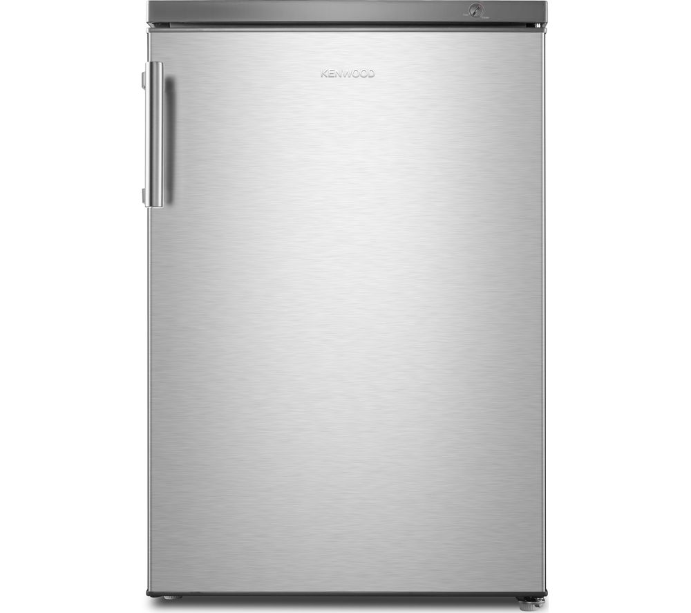 KENWOOD KUF55X18 Undercounter Freezer - Silver Inox