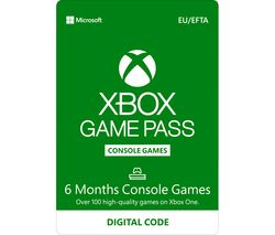 XBOX ONE Xbox One Game Pass - 6 months