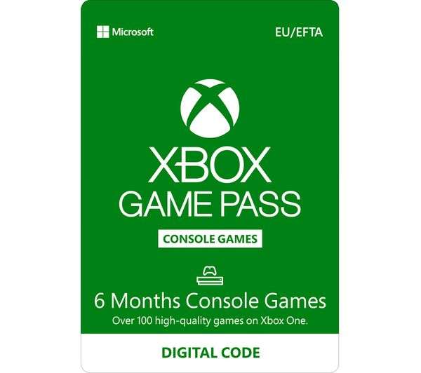 Image of XBOX ONE Xbox One Game Pass - 6 months