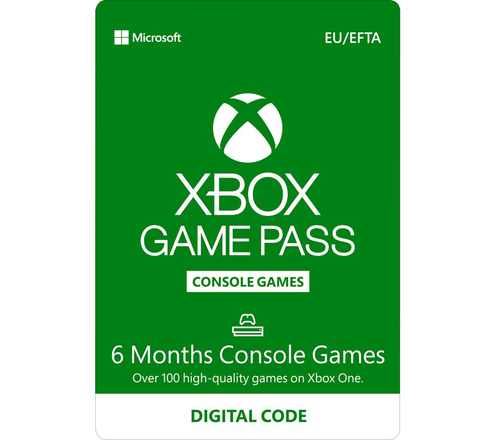 Xbox One Game Pass - 6 months