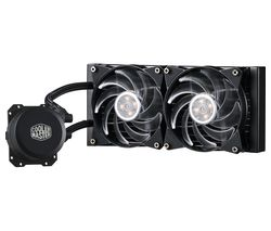 COOLER MASTER Masterliquid 120 mm CPU Cooler - RGB LED