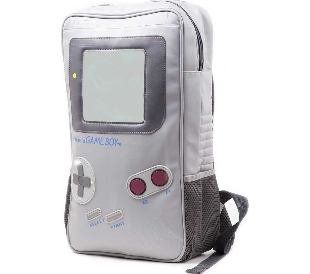 NINTENDO Game Boy Shaped Backpack - Grey, Grey