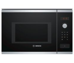 BOSCH BFL553MS0B Built-in Solo Microwave - Stainless Steel