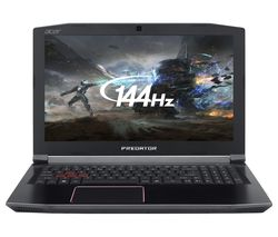 "ACER Predator Helios 300 15.6"" Intel® Core™ i7 GTX 1060 Gaming Laptop - 1 TB HDD & 256 GB SSD"