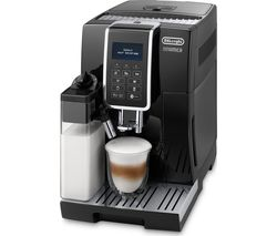 DELONGHI Dinamica ECAM 350.55.B Bean to Cup Coffee Machine - Black Best Price, Cheapest Prices