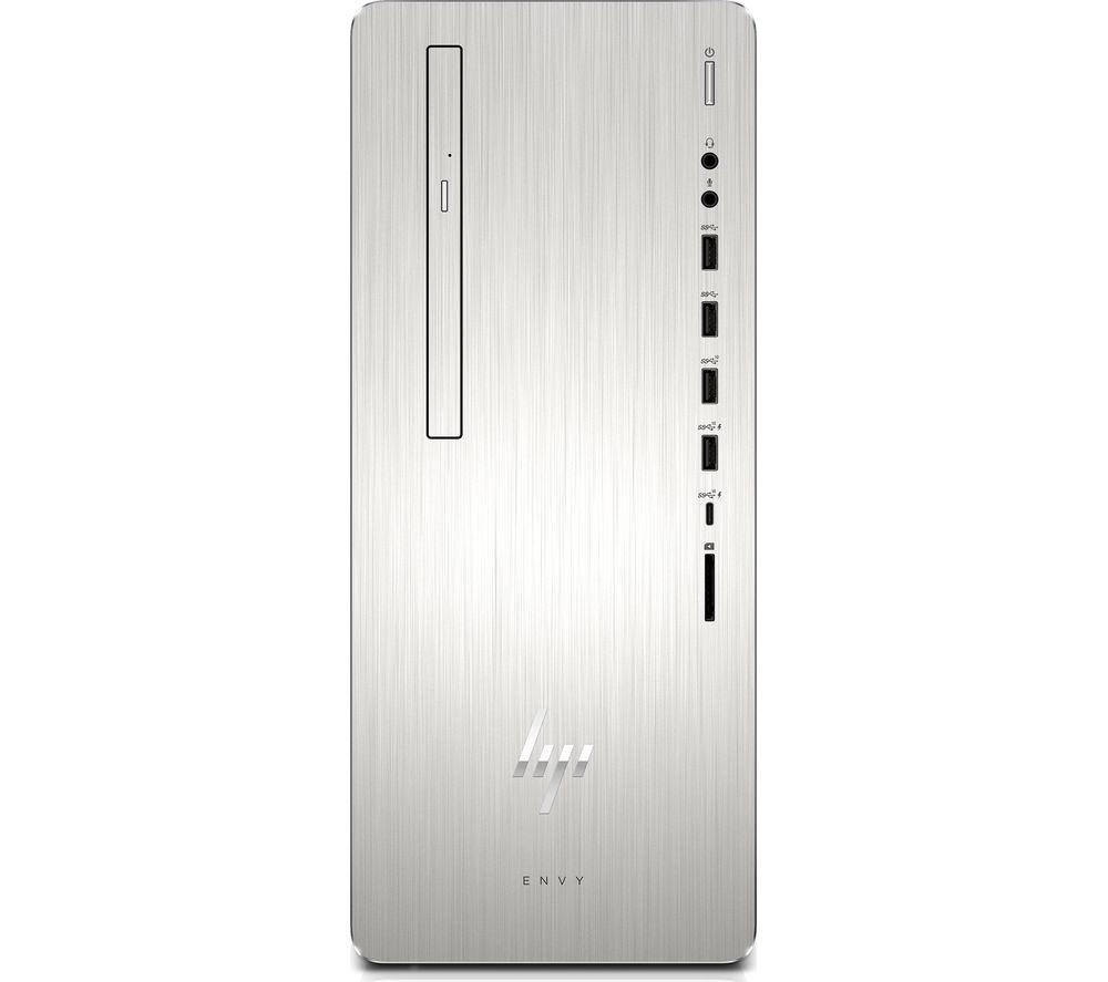 HP ENVY 795-0007na Intel® Core™ i7 Desktop PC  - 2 TB HDD & 256 GB SSD, Silver