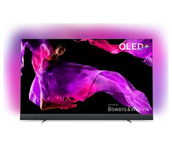 "PHILIPS 55OLED903/12 55"" Smart 4K Ultra HD HDR OLED TV with Soundbar"