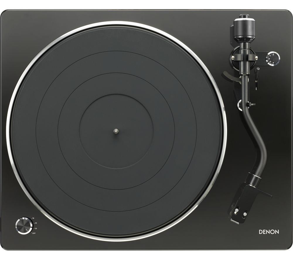 DENON DP-450 Belt Drive Turntable - Black