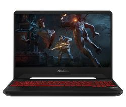 "ASUS TUF FX505DY 15.6"" AMD Ryzen 5 RX 560X Gaming Laptop - 1 TB HDD & 128 GB SSD"