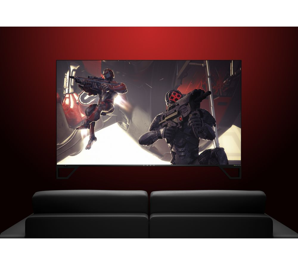 "Image of HP OMEN X Emperium 4K Ultra HD 65"" LED Gaming Monitor - Black, Black"