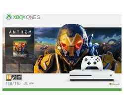 MICROSOFT Xbox One S with Anthem