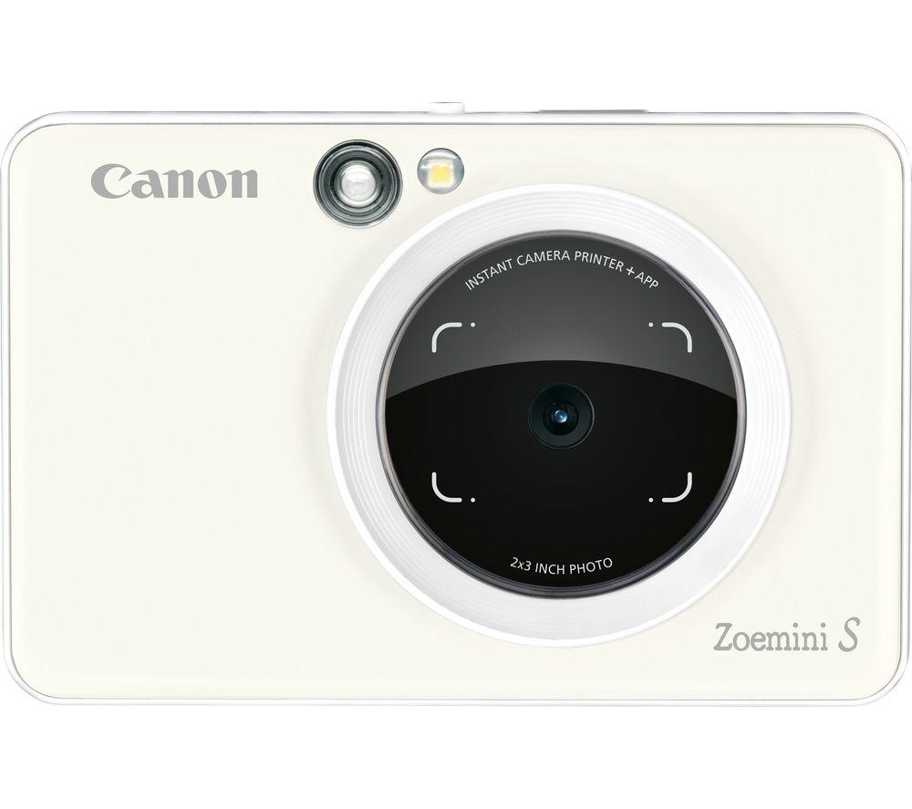 Canon Zoemini S Instant Camera White White