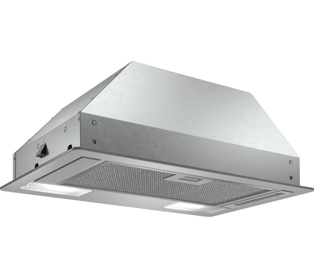 BOSCH Serie 2 DLN53AA70B Canopy Cooker Hood - Silver