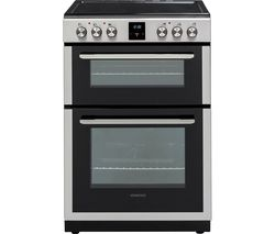 KENWOOD KDC66SS19 60 cm Electric Ceramic Cooker - Stainless Steel Best Price, Cheapest Prices