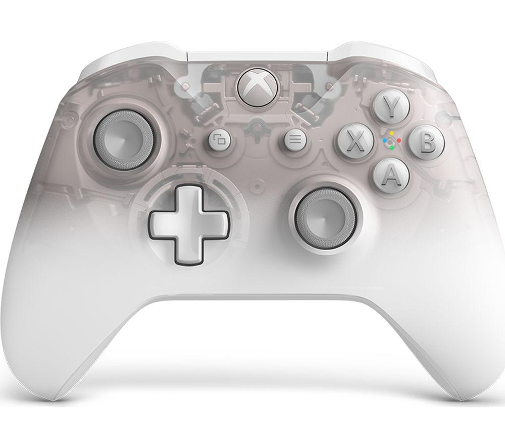 MICROSOFT Xbox One Wireless Controller - Phantom White