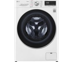 LG Vivace FWV595WS WiFi-enabled 9 kg Washer Dryer - White