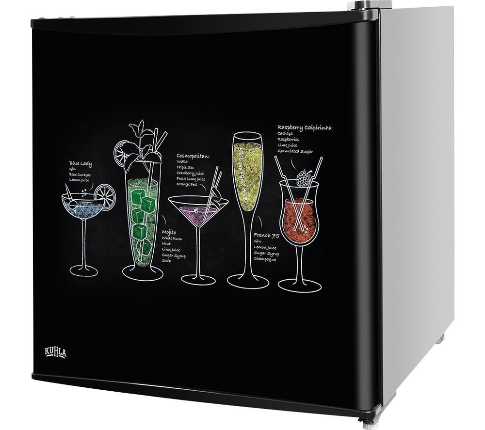 Image of KTTF4BGB-1001 Mini Fridge - Black, Fixed Hinge, Black