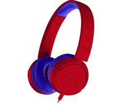 JBL JR300 Kids Headphones - Spider Red