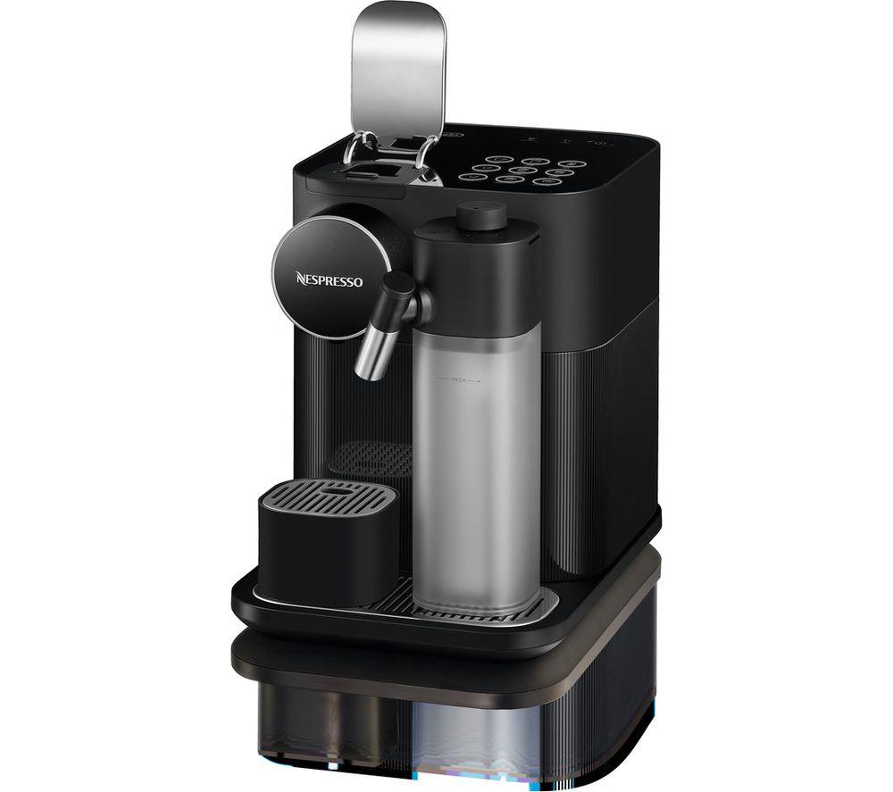 NESPRESSO by Delonghi Gran Lattisima EN650.B Coffee Machine - Black, Black