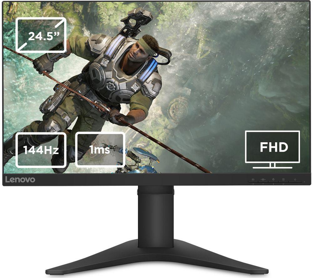 "Image of LENOVO G25-10 Full HD 24.5"" TN LCD Gaming Monitor - Black, Black"