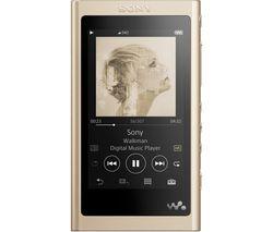 Walkman NW-A55L Touchscreen MP3 Player - 16 GB, Gold