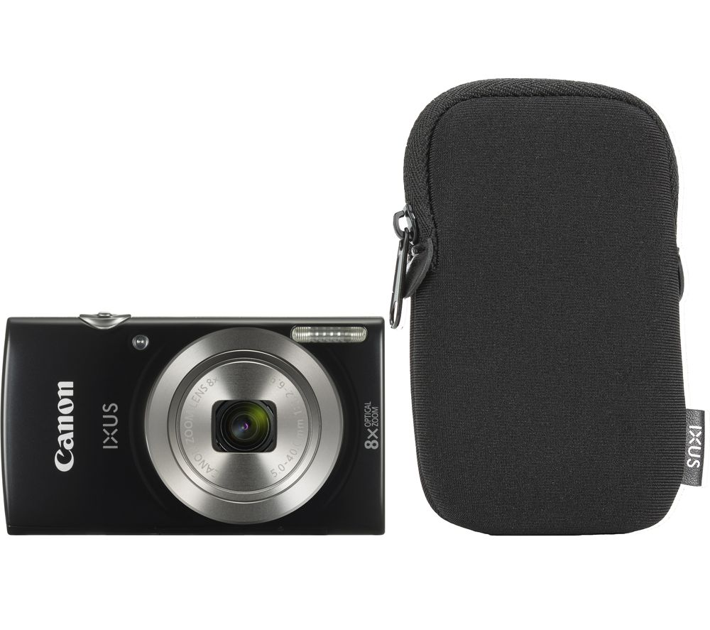 Click to view product details and reviews for Canon Ixus 185 Compact Camera Essentials Kit Black Black.