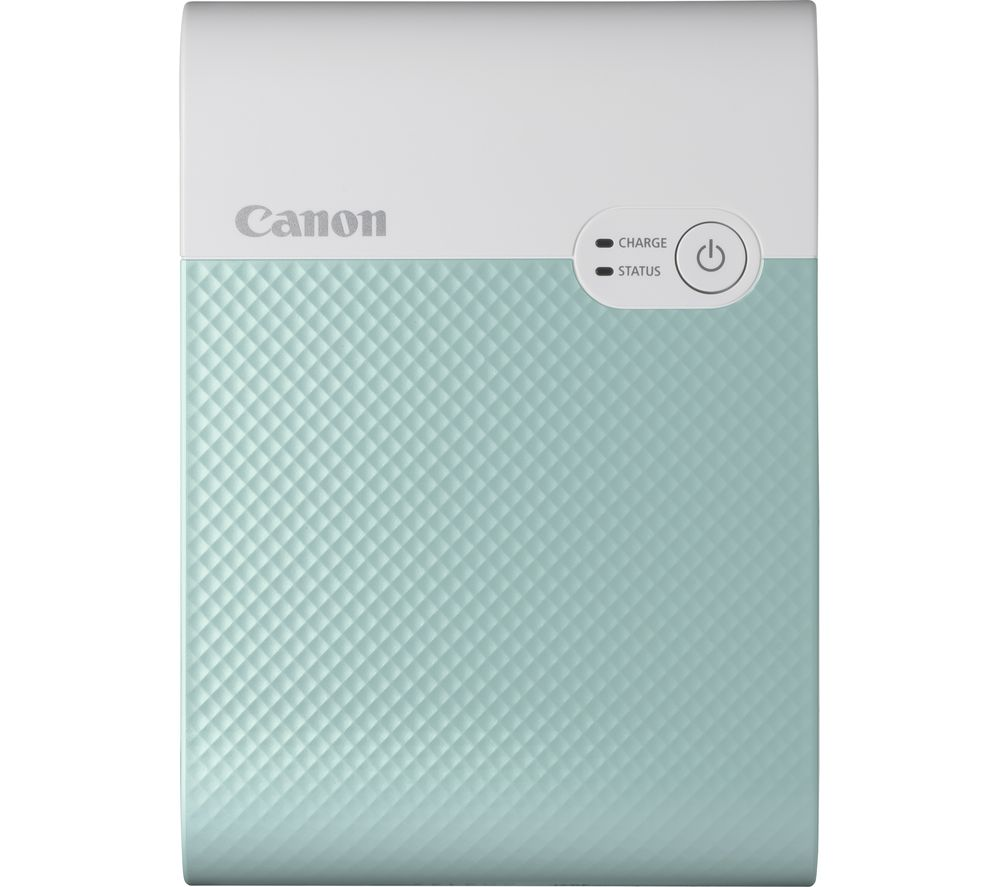 Image of CANON SELPHY Square QX10 Photo Printer - Green, Green