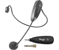 SUW 12H-BK Wireless Headset - Black