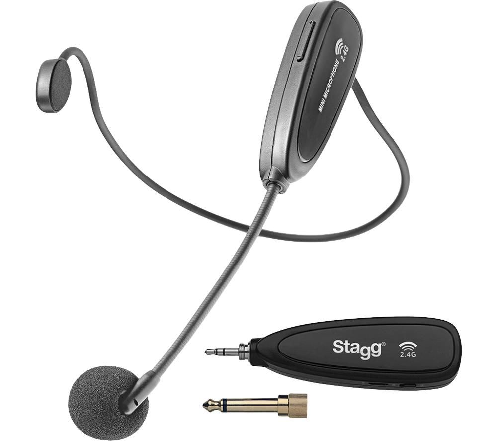 STAGG Wireless Headset Microphone - Black