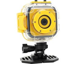 Panox Champion Action Camera - Black & Yellow