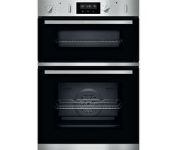 N50 U2GCH7AN0B Electric Double Oven - Stainless Steel