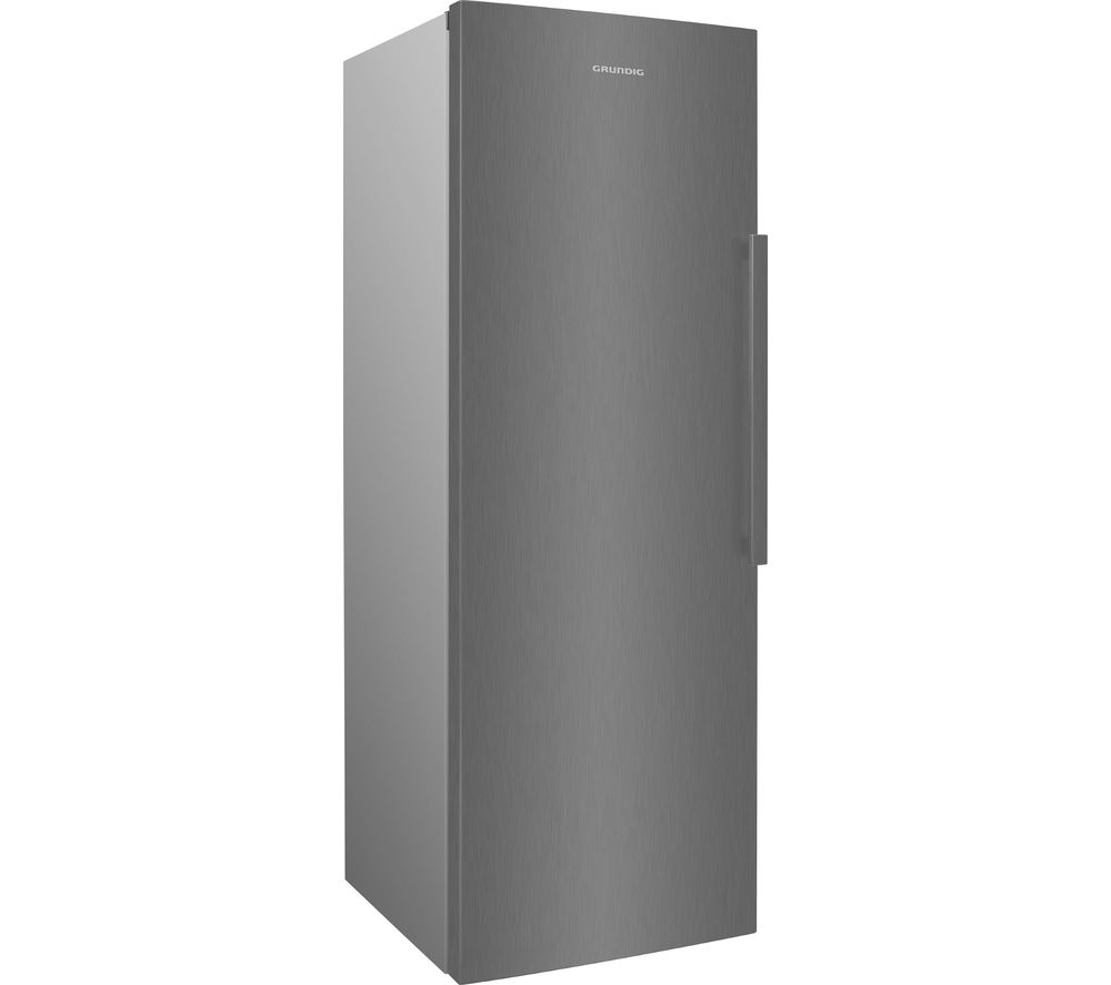 GRUNDIG GFN3671N Tall Freezer - Brushed Steel, Brushed Steel