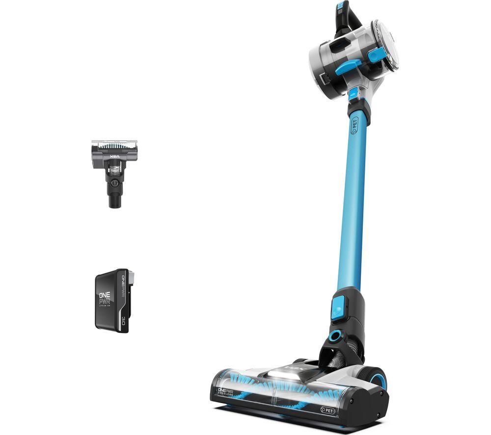 VAX Blade 3 Pet CLSV-B3KP Cordless Vacuum Cleaner – Graphite & Blue