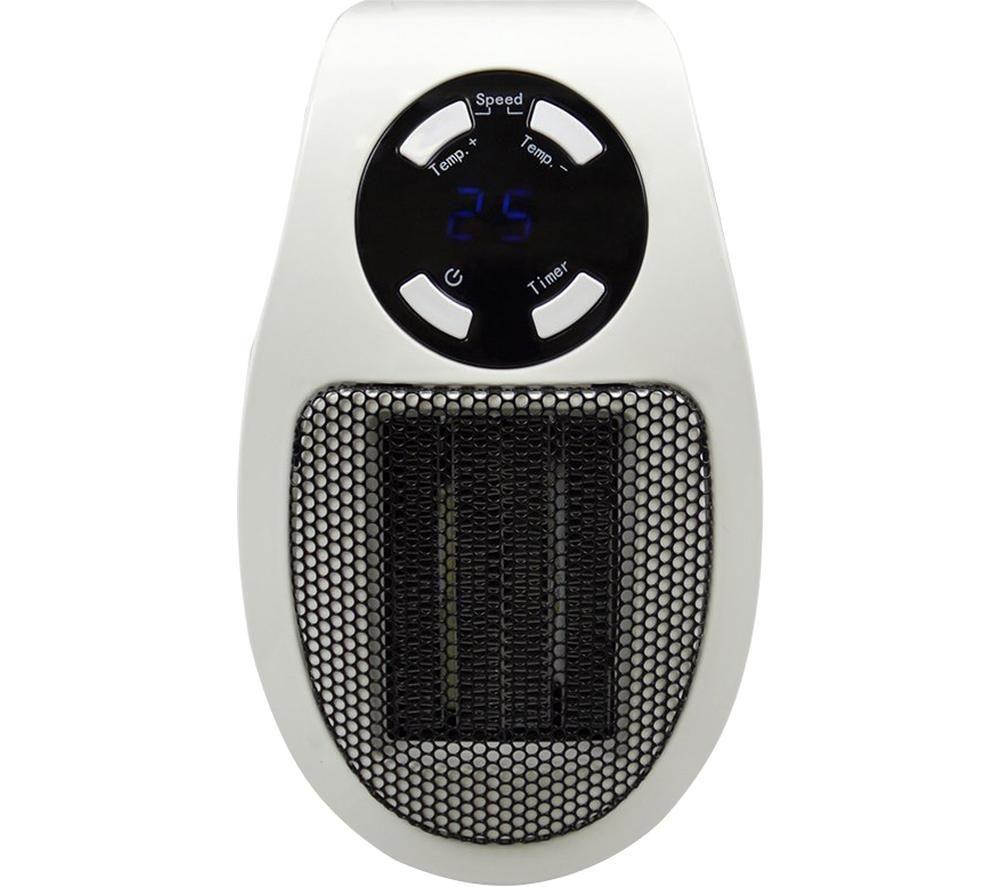 LLOYTRON StayWarm F2210WH Ceramic Plug Heater - White