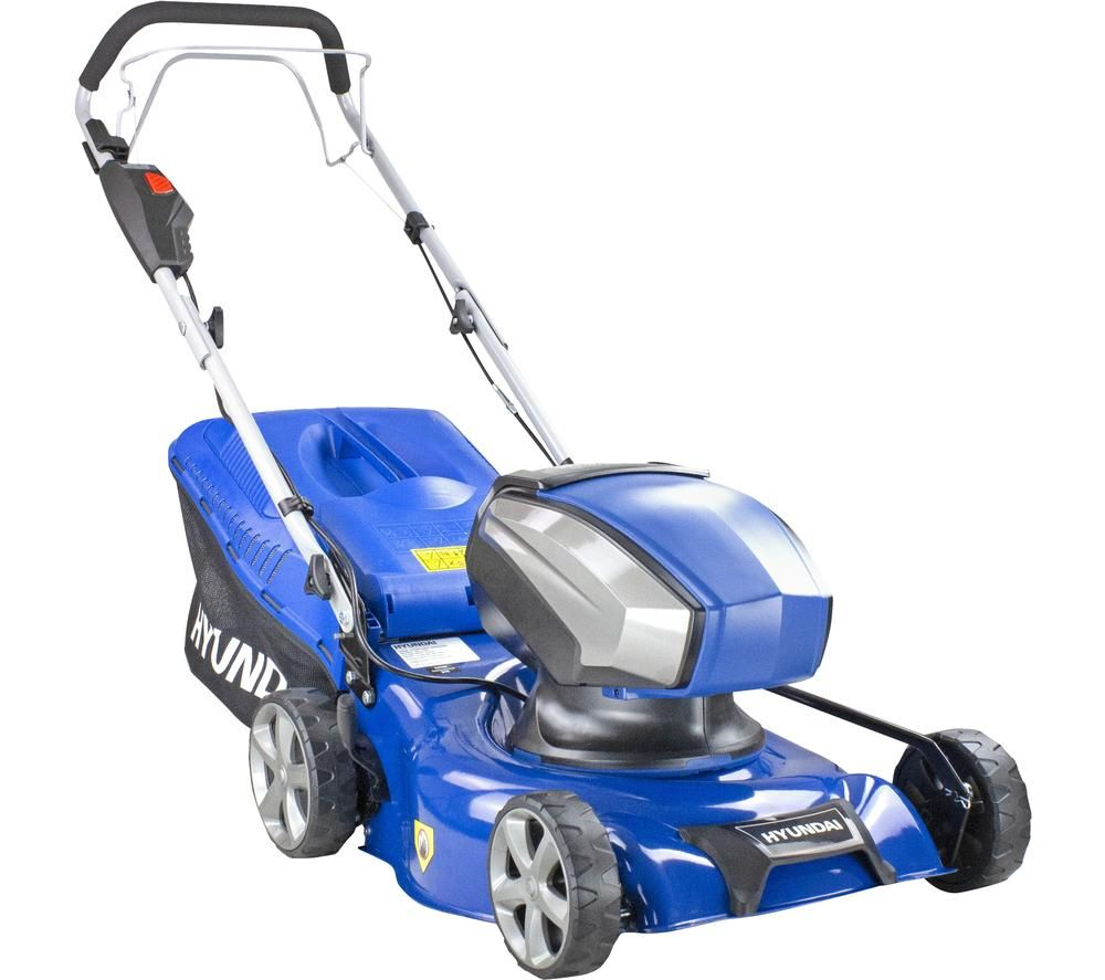 HYUNDAI HYM40LI420SP Cordless Rotary Lawn Mower - Blue