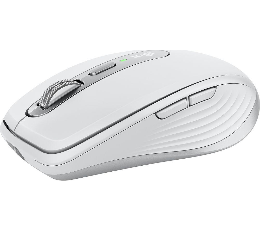 LOGITECH MX Anywhere 3 Wireless Darkfield Mouse - Pale Grey