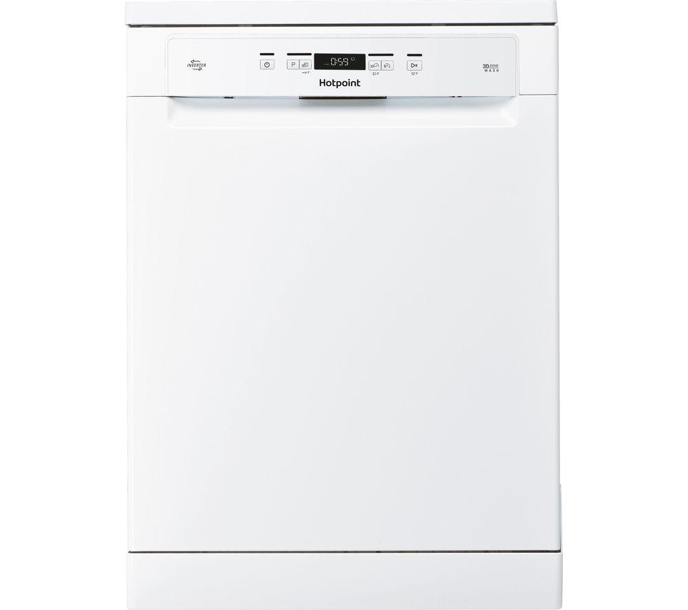 HOTPOINT HFC 3C26 W C UK Full-size Dishwasher - White, White