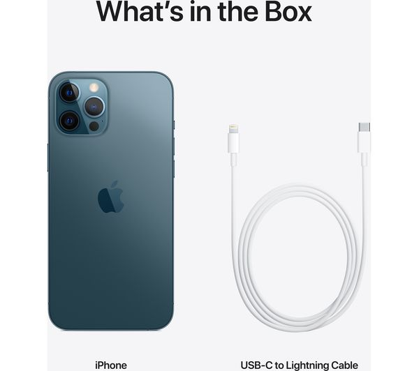 Apple iPhone 12 Pro Max - 128 GB, Pacific Blue 4