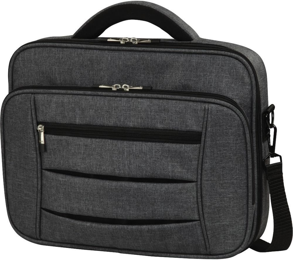 "HAMA Prime Line Business 101576 15.6"" Laptop Case - Grey, Grey"