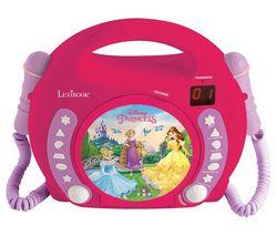 RCDK100DP CD Player with Microphones - Disney Princess