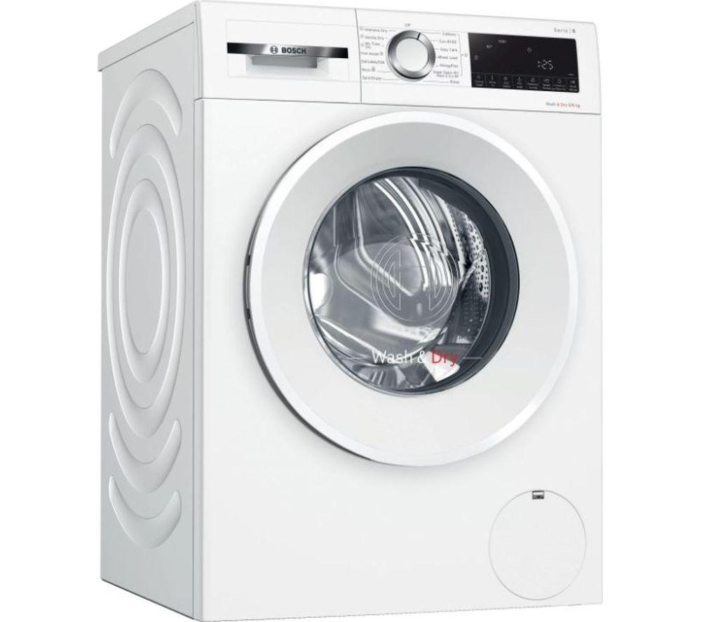 BOSCH Serie  6 WNA14490GB 9 kg Washer Dryer - White