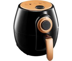 GOTHAM STEEL 2048FEQ Air Fryer - Black & Copper