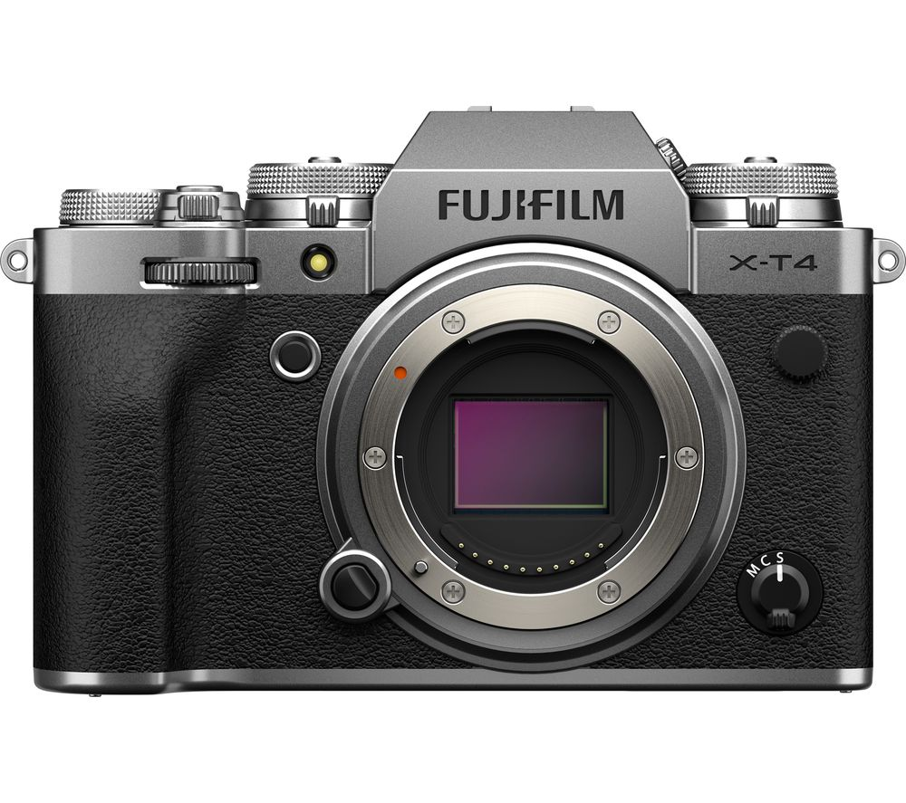 Click to view product details and reviews for Fujifilm X T4 Mirrorless Camera Silver Body Only Silver.