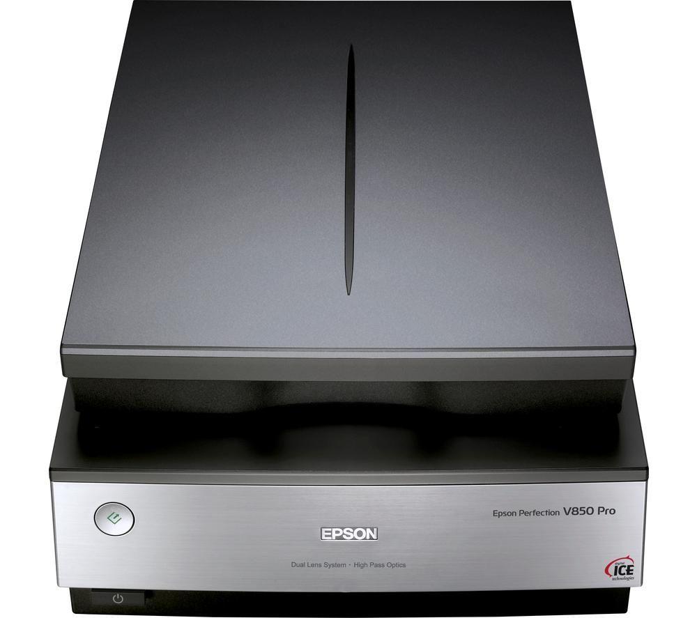 Image of Epson Perfection V850 Pro - flatbed scanner - desktop - USB 2.0