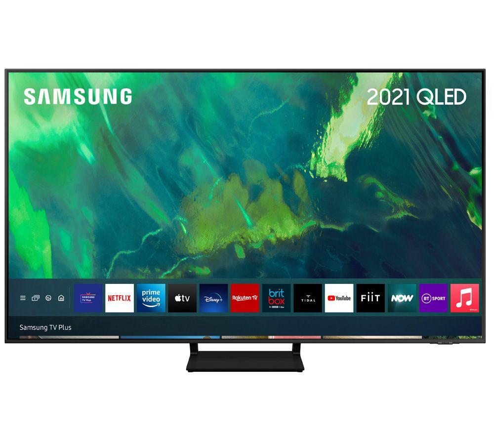 "SAMSUNG QE75Q70AATXXU 75"" Smart 4K Ultra HD HDR QLED TV with Bixby, Alexa & Google Assistant"